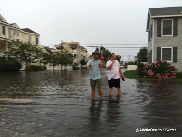 <div class='meta'><div class='origin-logo' data-origin='none'></div><span class='caption-text' data-credit=''>Arielle Orsuto sent in this photo of flooding in Ocean City.</span></div>
