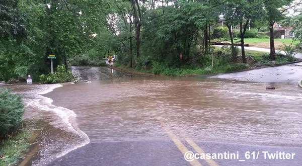 <div class='meta'><div class='origin-logo' data-origin='WPVI'></div><span class='caption-text' data-credit=''>Action News viewer Michele Casantini sent in this photo near the Darby Creek in Havertown, Pa.</span></div>