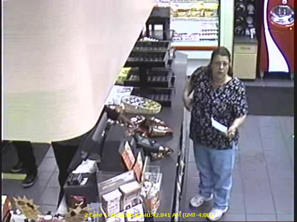 "<div class=""meta image-caption""><div class=""origin-logo origin-image wpvi""><span>WPVI</span></div><span class=""caption-text"">A woman is accused of stealing thousands of dollars' worth of bagged coffee from area Wawa stores and returning them to different locations for cash. (West Goshen Township Police)</span></div>"