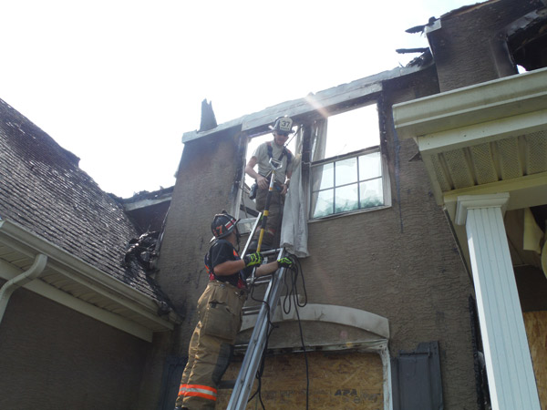 """<div class=""""meta image-caption""""><div class=""""origin-logo origin-image none""""><span>none</span></div><span class=""""caption-text"""">Firefighters rescued two dogs who were believed to have perished during a fire in Chester County. </span></div>"""