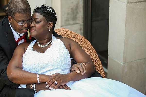 photos terminally ill man gets wedding wish 6abccom