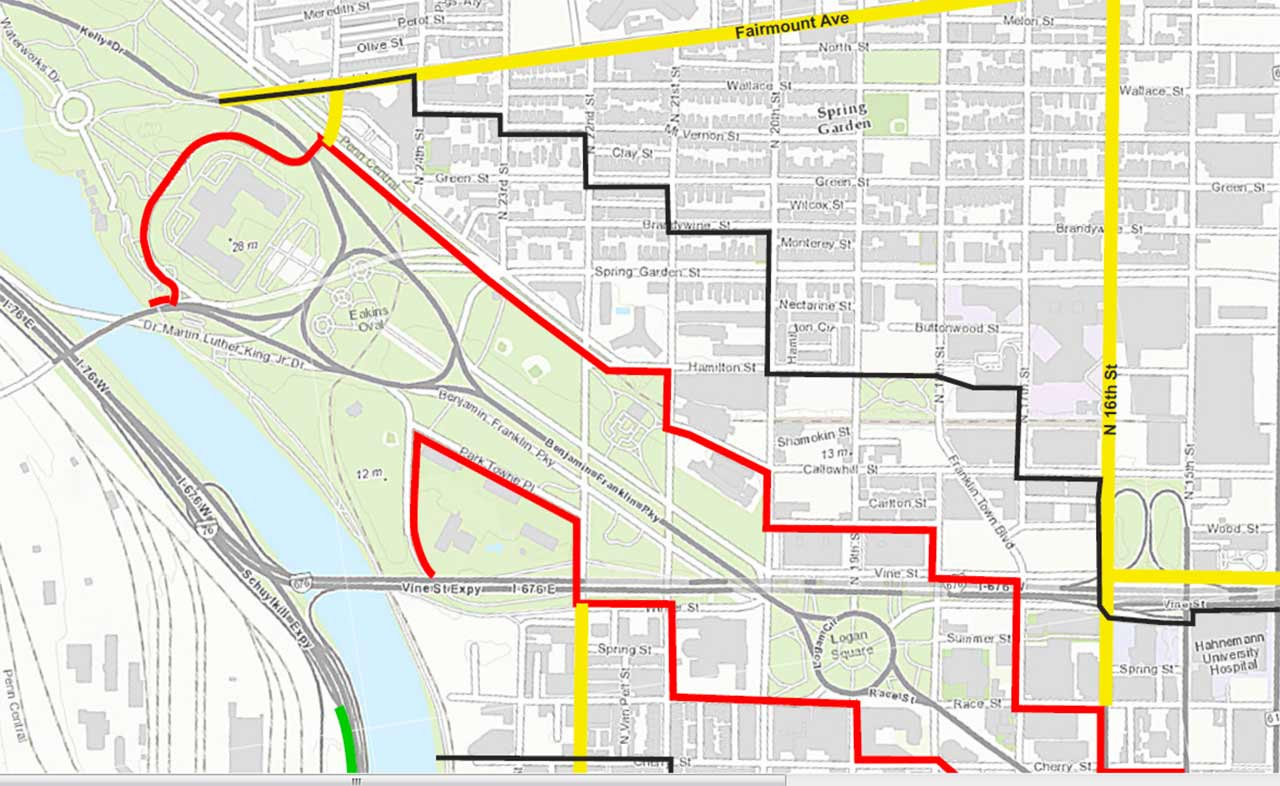 Security zones Philly govt and school closures for papal visit – Tourist Map of Philadelphia