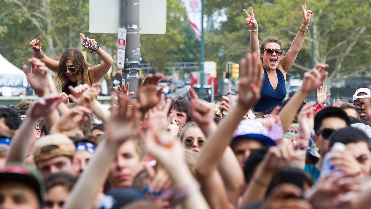 """<div class=""""meta image-caption""""><div class=""""origin-logo origin-image """"><span></span></div><span class=""""caption-text"""">Fans attend day one of the Budweiser Made in America Festival on Saturday, August 30, 2014 in Philadelphia.  (Charles Sykes/Invision/AP)</span></div>"""