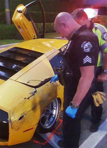 "<div class=""meta image-caption""><div class=""origin-logo origin-image none""><span>none</span></div><span class=""caption-text"">The driver of a Buick was killed in a crash involving a Lamborghini.  (PHOTO: Delray Beach Police)</span></div>"