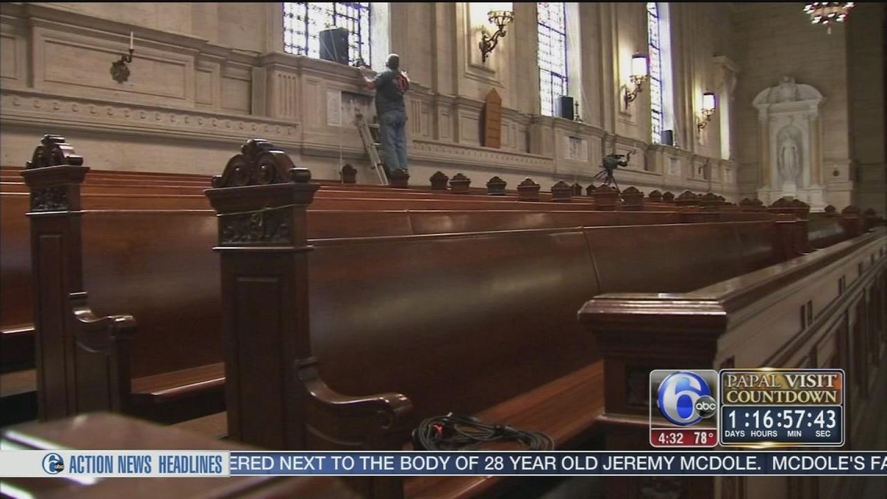 VIDEO: Final preps at Saint Charles Borromeo Seminary