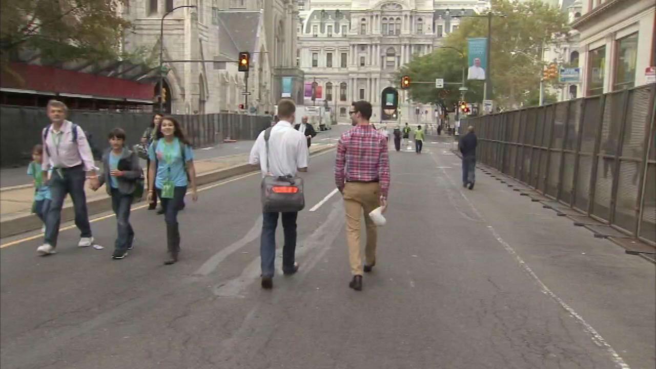 PHOTOS: Philadelphia on eve of papal visit