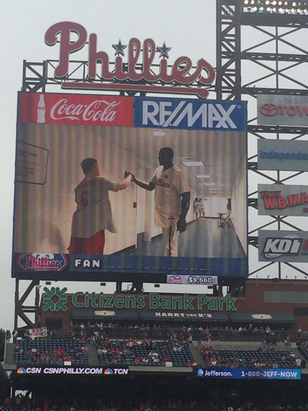<div class='meta'><div class='origin-logo' data-origin='none'></div><span class='caption-text' data-credit=''>Philadelphia Phillies star Ryan Howard was honored Sunday at Citizens Bank Park prior to what is believed to be his final game for the team.</span></div>