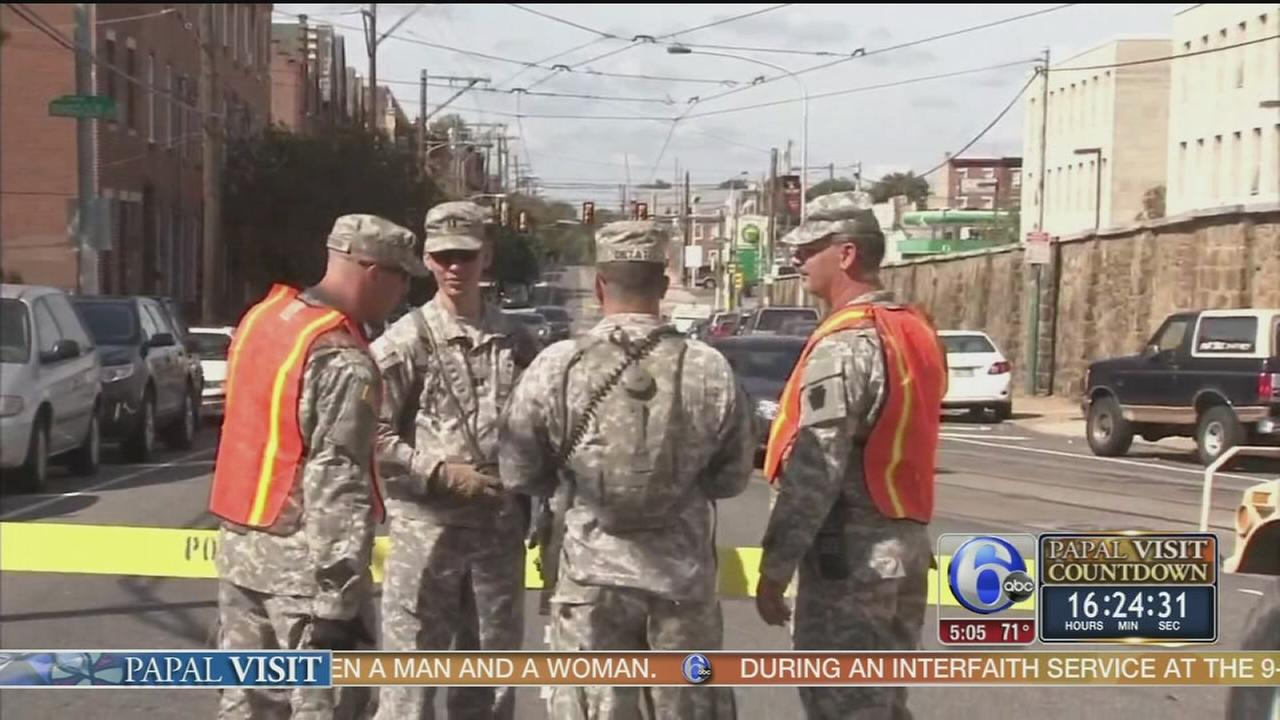 VIDEO: National guard ready to protect during the papal visit
