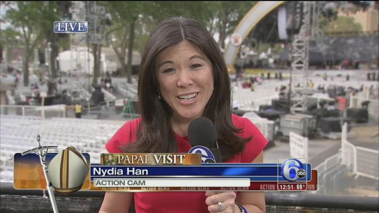 VIDEO: Nydia Han at Eakins Oval