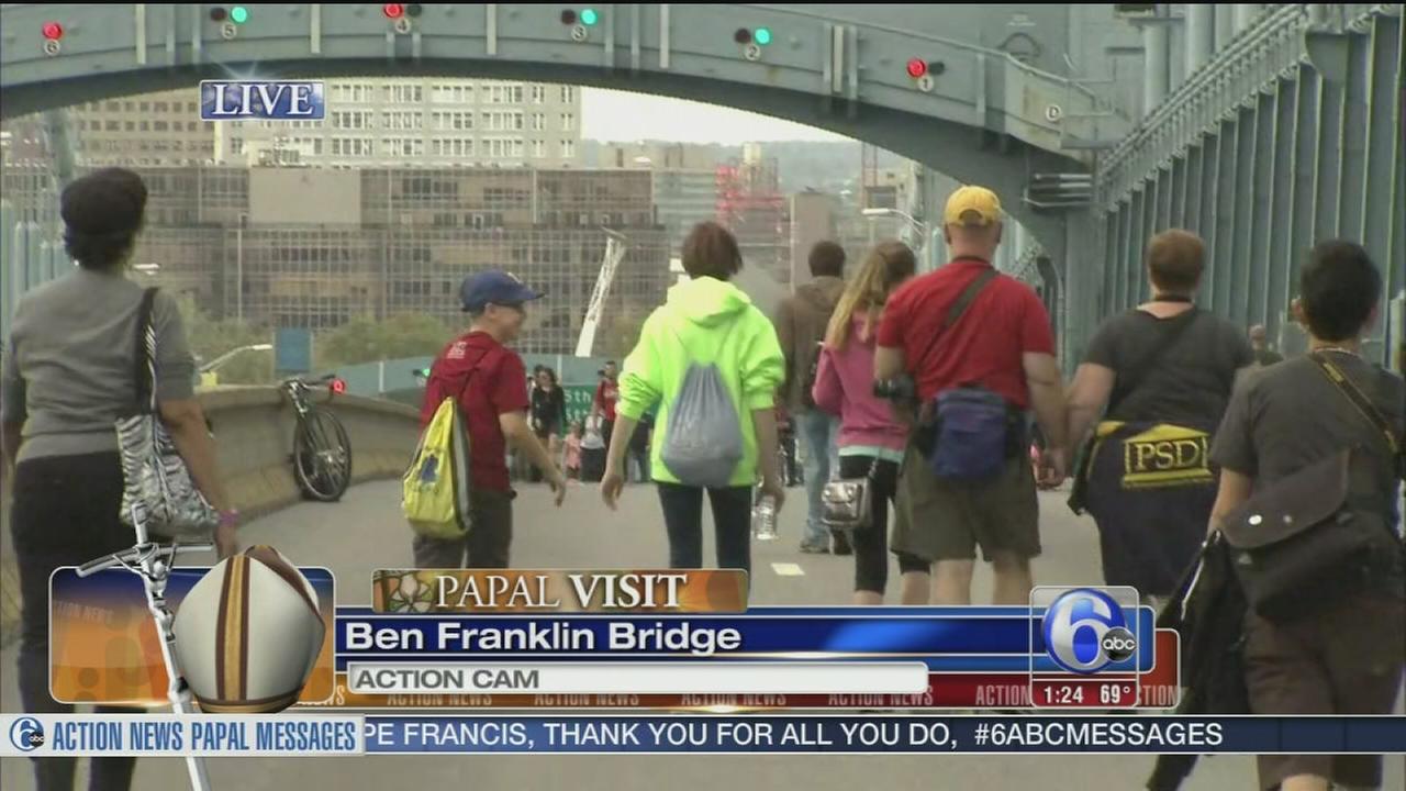 VIDEO: Chad on the Ben Franklin Bridge