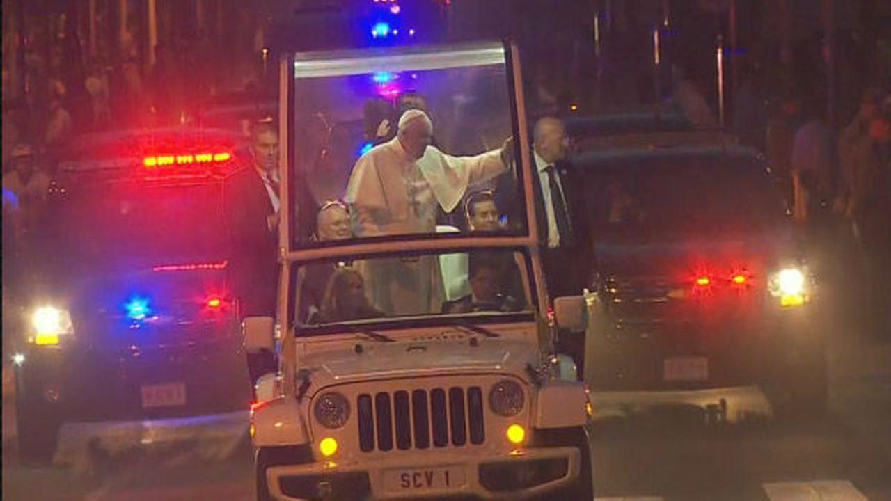 PHOTOS: Papal Parade, Festival of Families