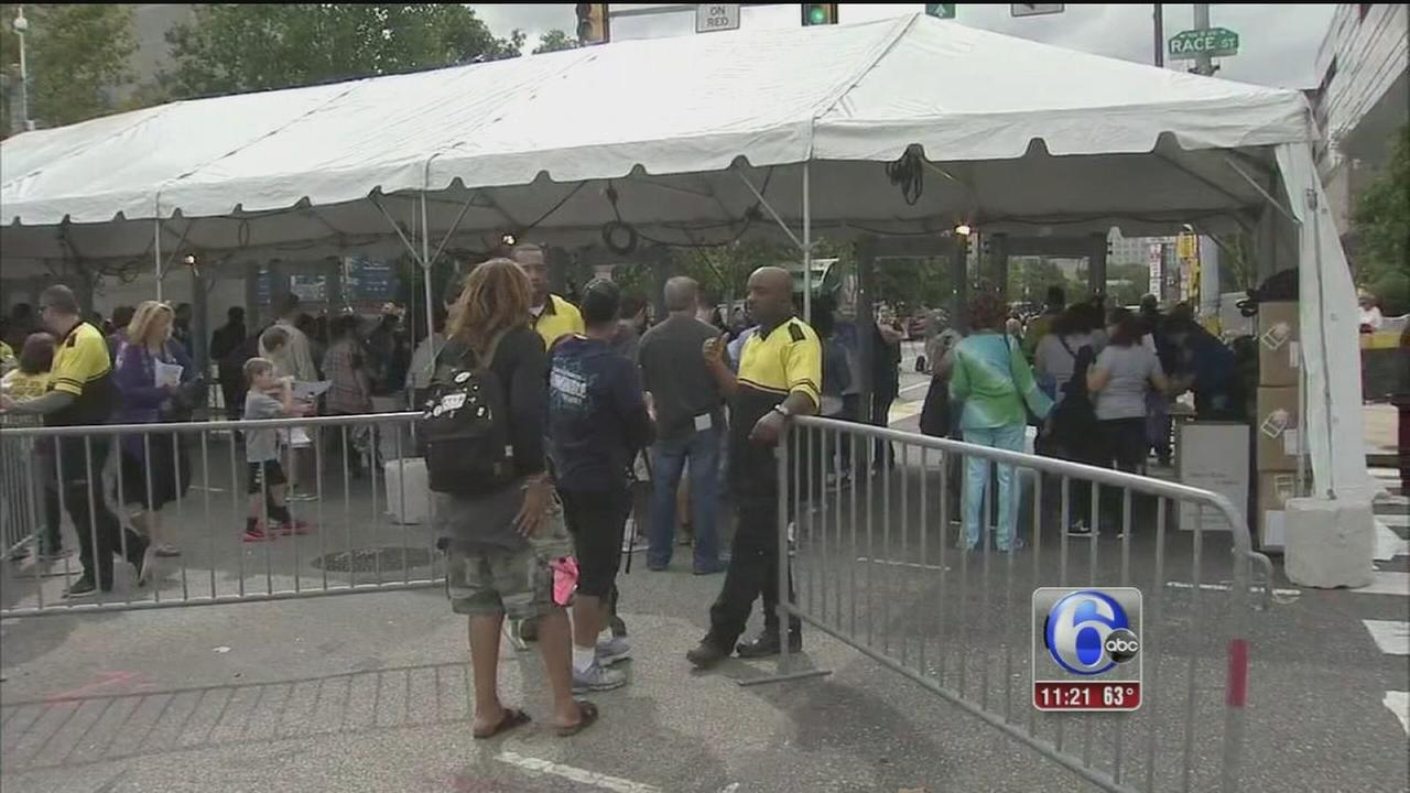 VIDEO: Security extra tight for papal visit