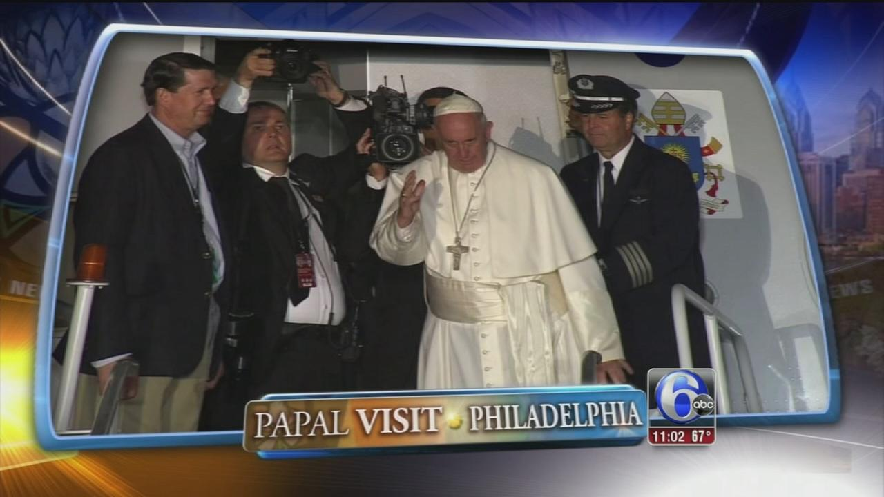 VIDEO: Jim Gardner recaps Day 2 of papal visit