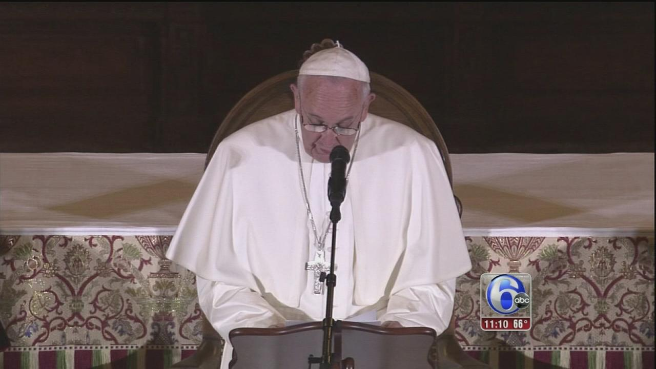 VIDEO: Pope condemns sex abuse
