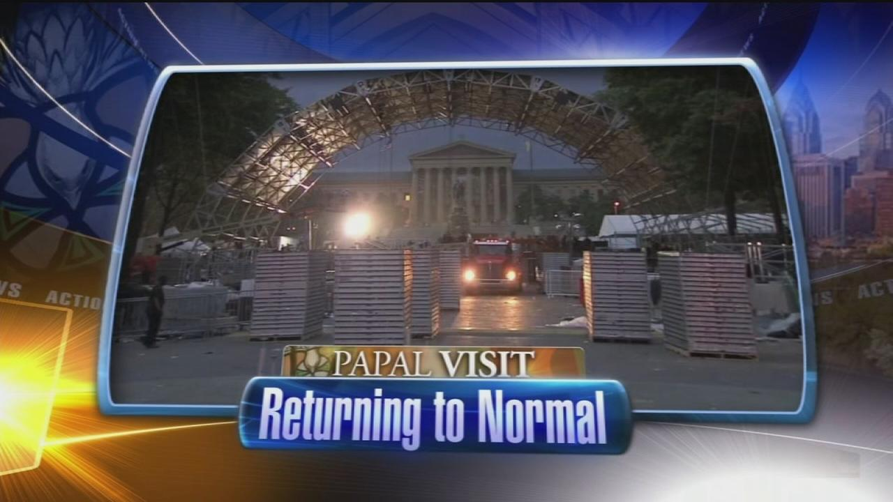 VIDEO: Returning to normal from weekend