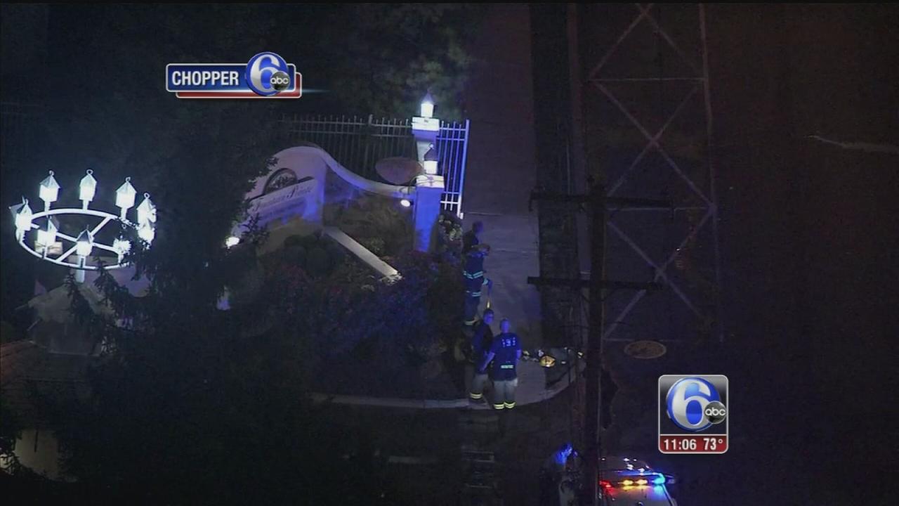 VIDEO: Gas leak at Northeast Philadelphia apartments