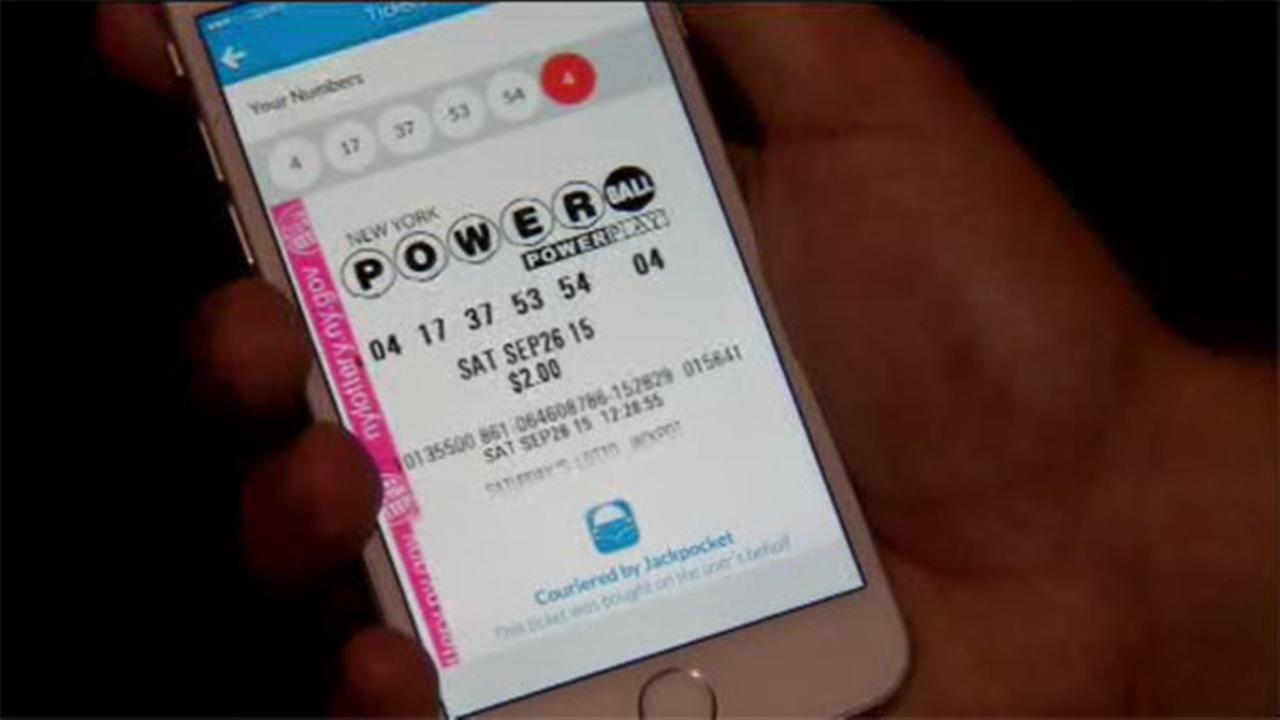Buy lotto tickets from phone with new app