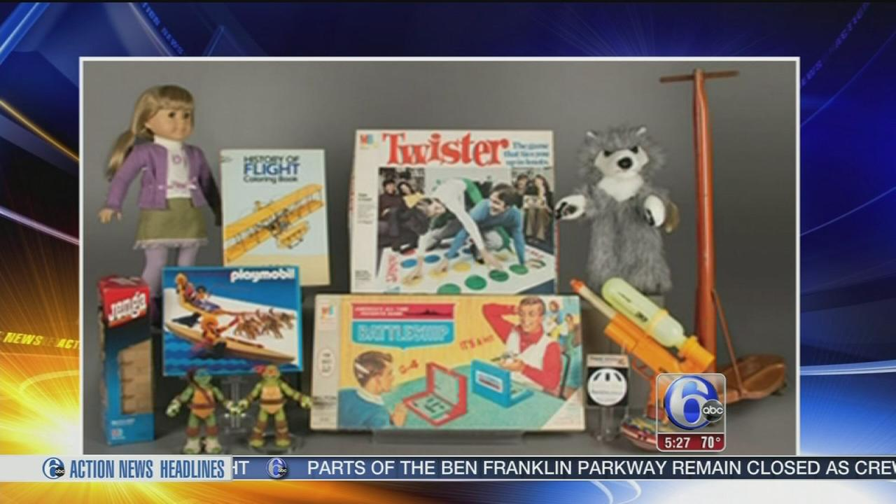 VIDEO: 12 Toy Hall of Fame finalists