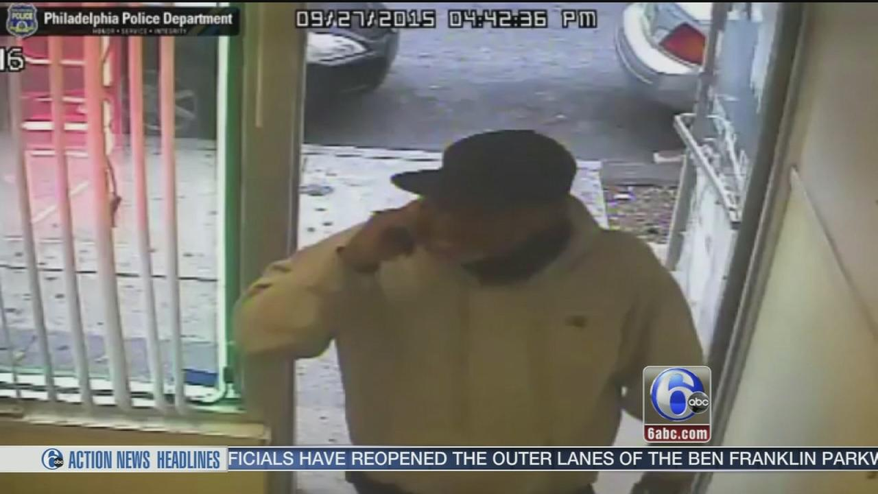 VIDEO: Man robs nail salon after getting manicure