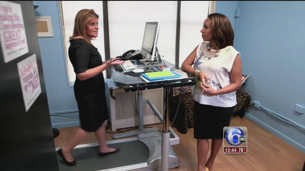 VIDEO: Is standing at your desk better for you