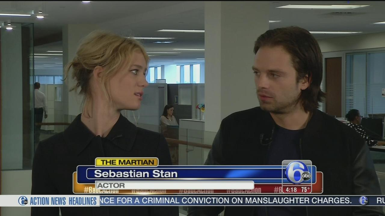 VIDEO: Stars of The Martian stop by 6abc