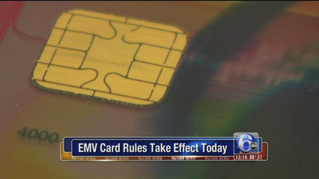 VIDEO: EMV card rules take effect Thursday