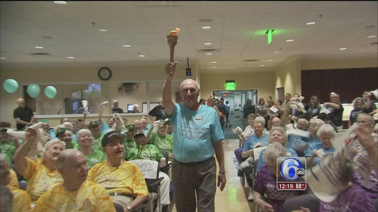 VIDEO: Art of Aging: Senior Olympics
