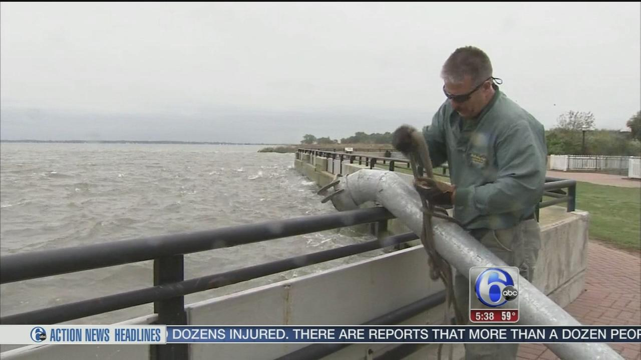 VIDEO: Delaware prepares for the storms