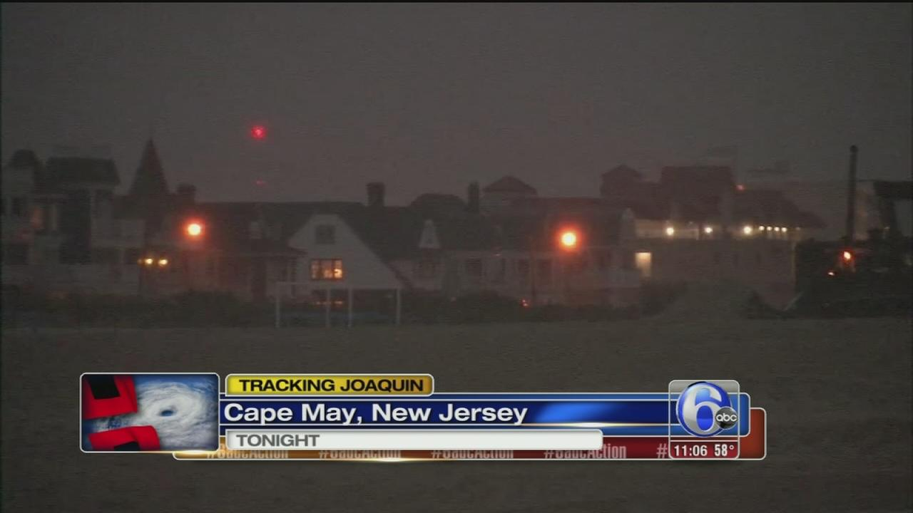 VIDEO: Cape May storm prep