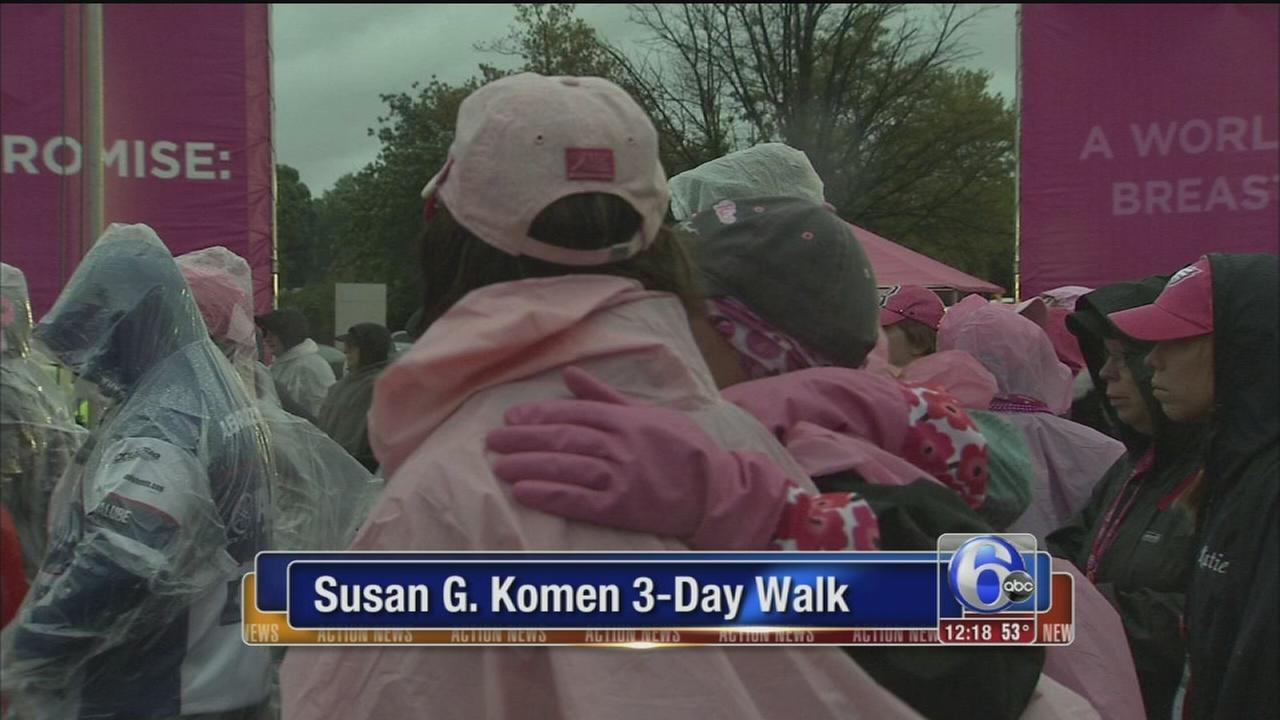 VIDEO: Susan G. Komen 3-Day