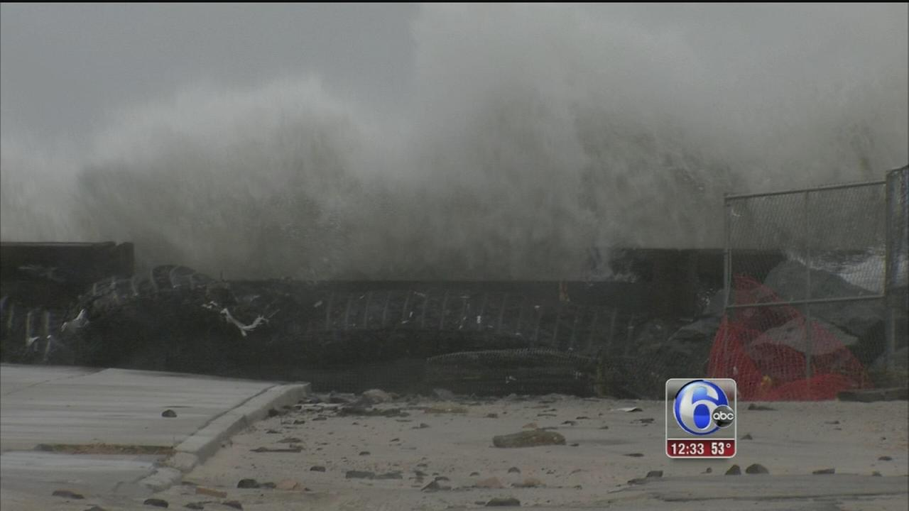 VIDEO: Atlantic City braces for several days of storms