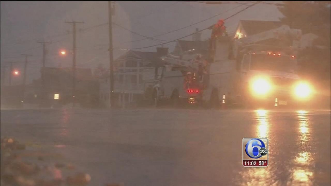 VIDEO: Coastal flooding in Avalon