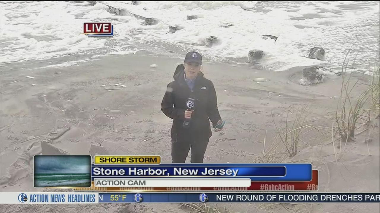 VIDEO: Trish Hartman reports from Stone Harbor