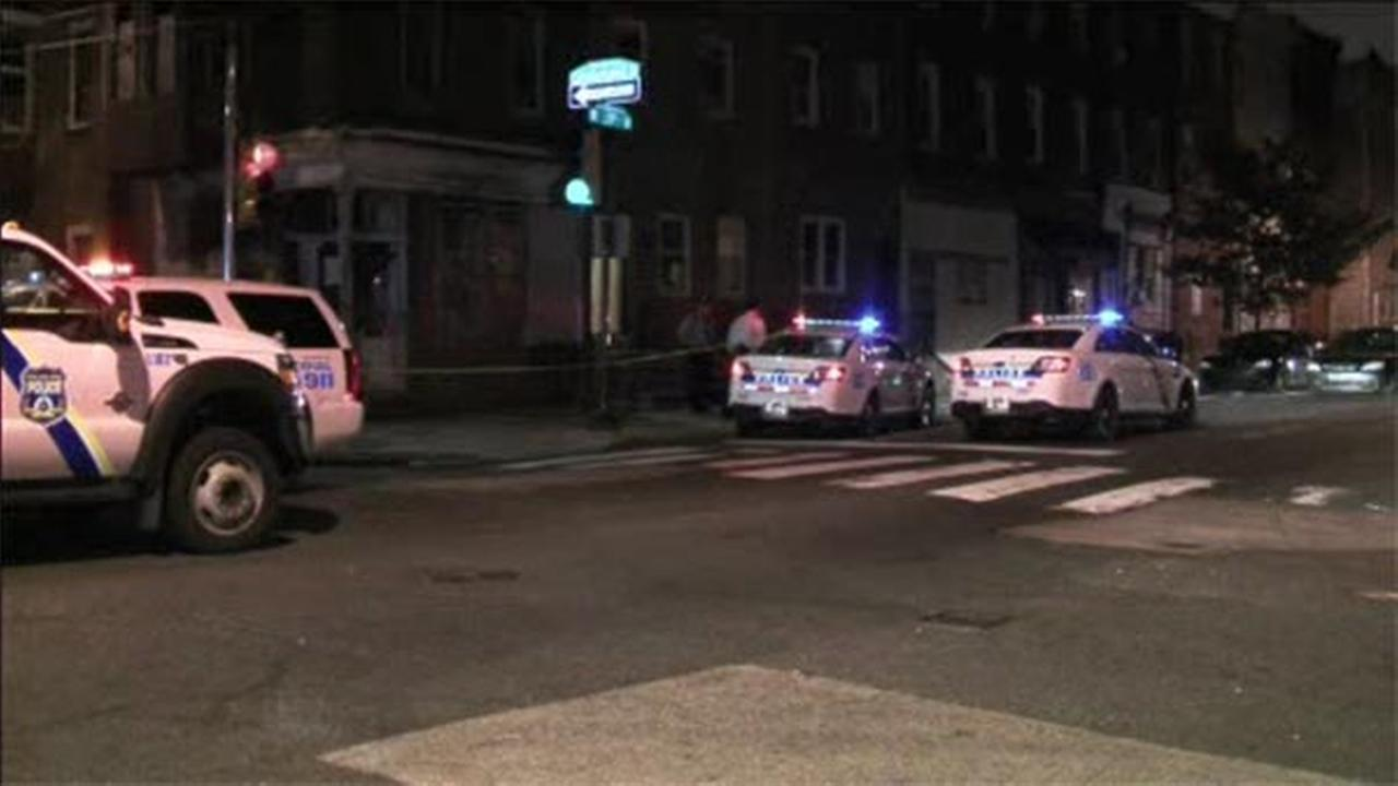 Two men are dead after being shot in the Strawberry Mansion section of Philadelphia.