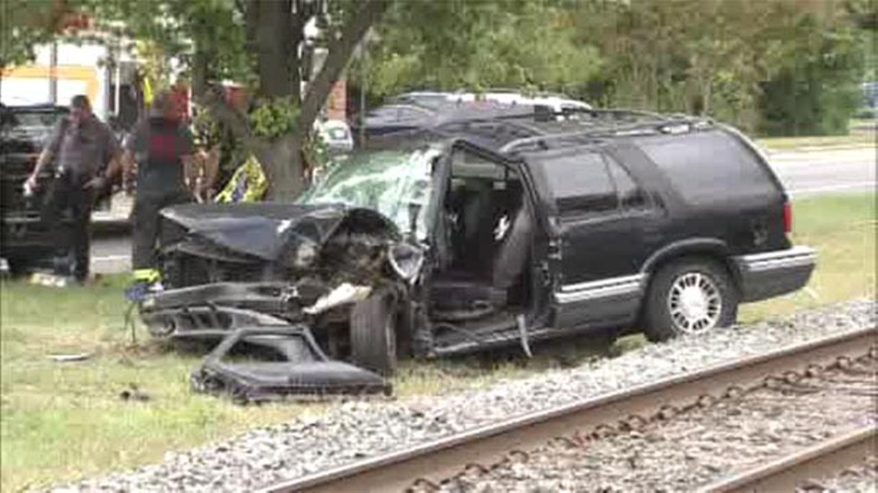 Two women have been injured after an accident near the Riverton Station on the NJ Transit River LINE in Burlington County.