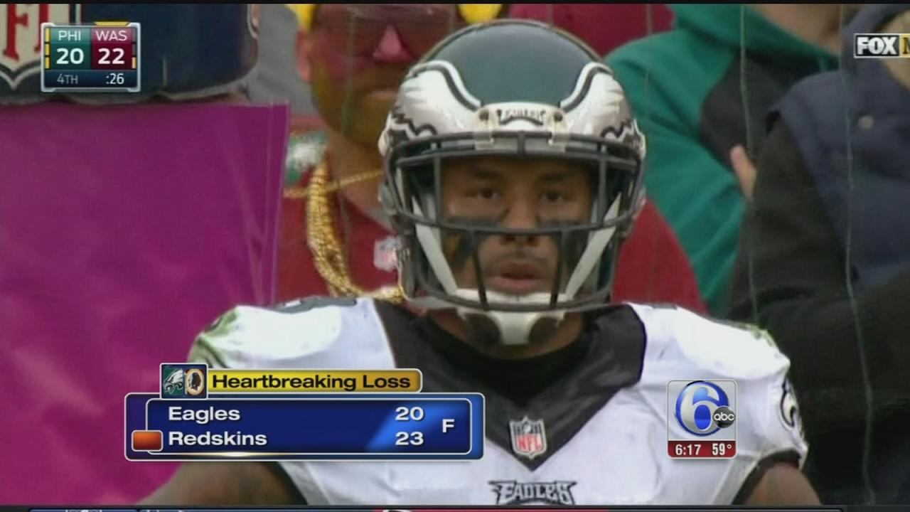 VIDEO: Redskins defeat Eagles, 23-20