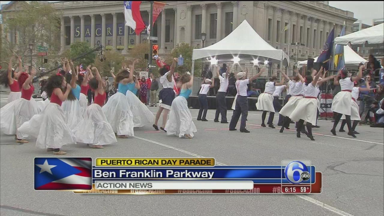 VIDEO: Puerto Rican Day Parade