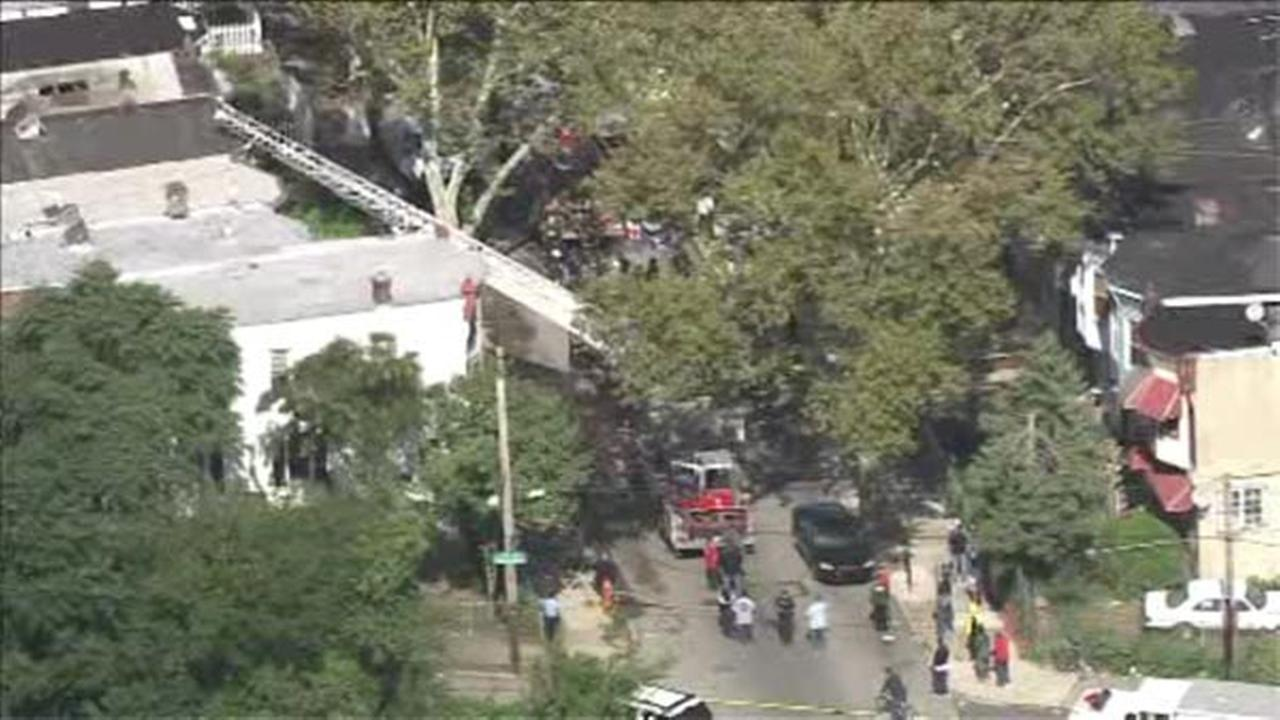 Man critical after North Philadelphia fire