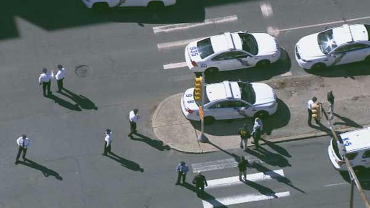 PHOTOS: Lockdown at Community College of Phila.