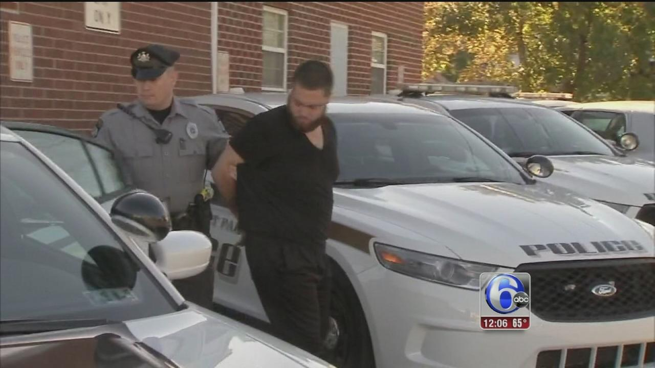 VIDEO: Suspect in custody after Glenolden chase
