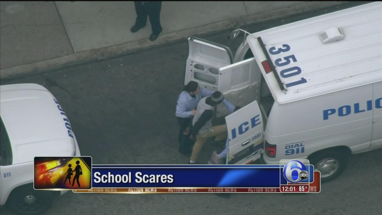 VIDEO: Student in custody after lockdown