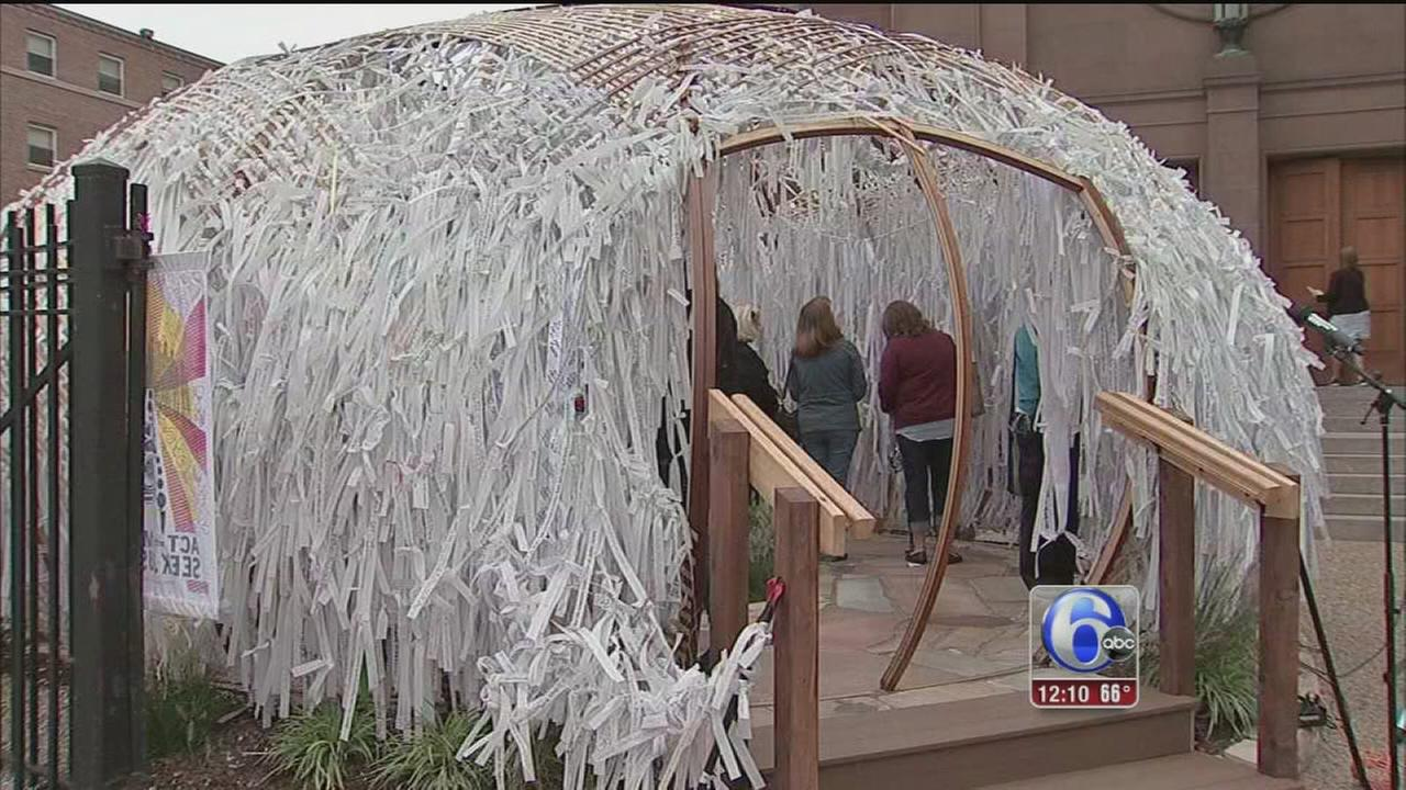 VIDEO: Ceremony closes Knotted Grotto site at Cathedral