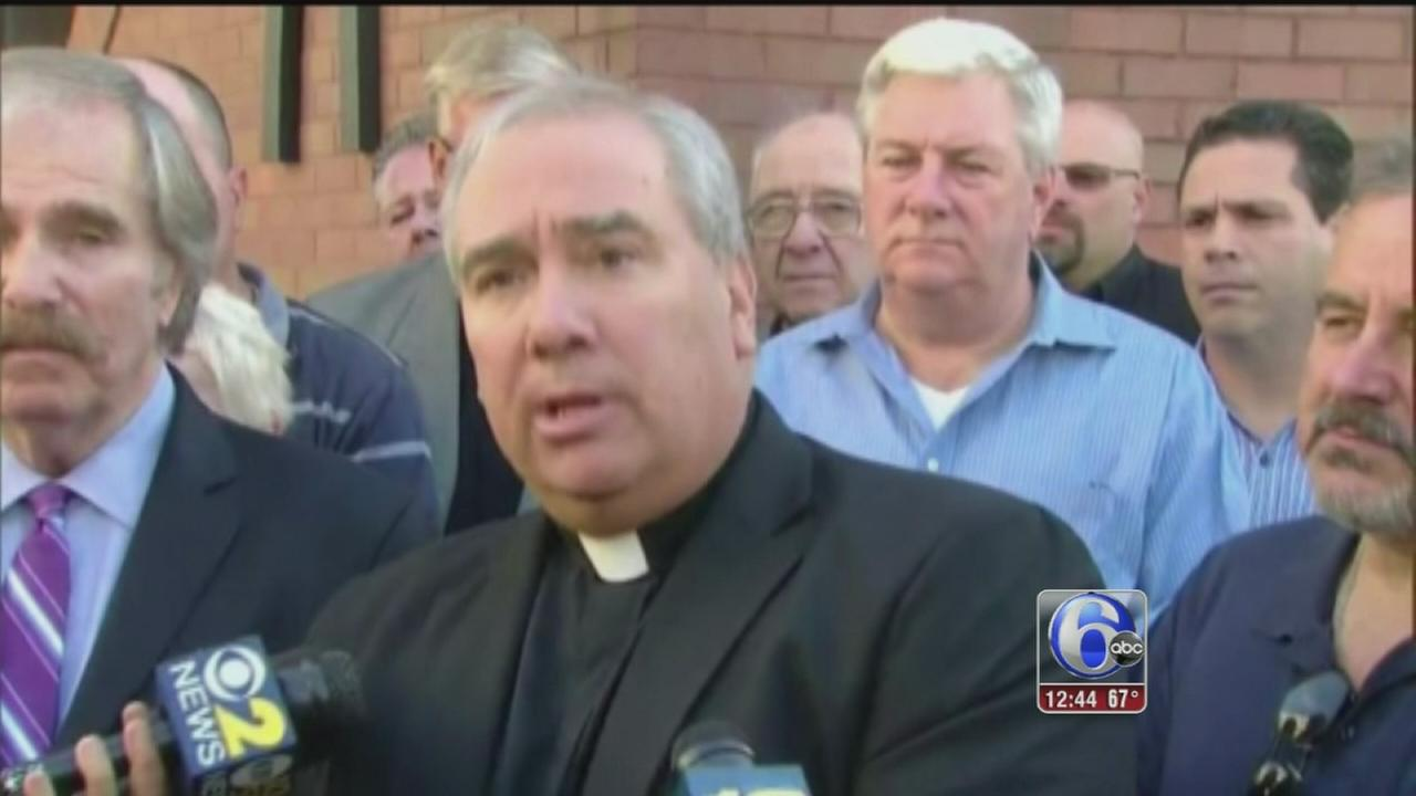 VIDEO: Priest pleads not guilty to endangering boy, 8, with musket