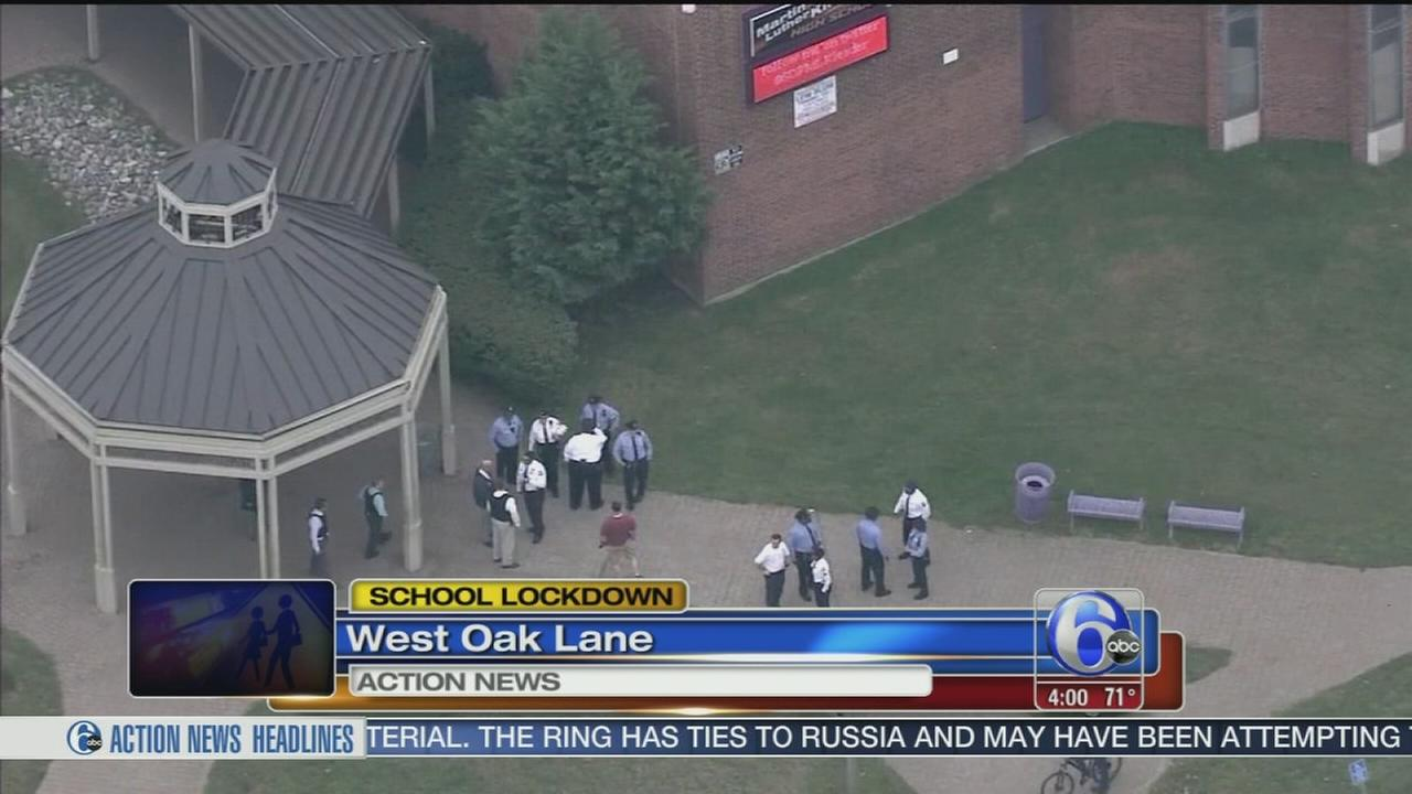 VIDEO: School lockdown
