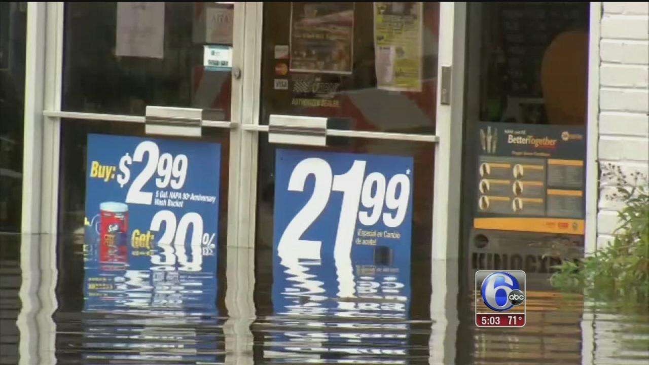 VIDEO: South Carolina historic floods begin to recede