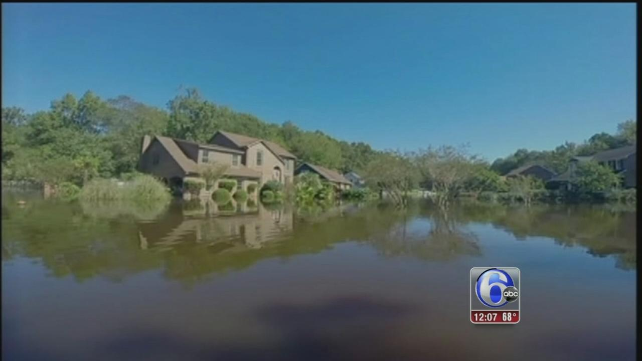 VIDEO: Receding floodwaters lead to homecoming heartbreak