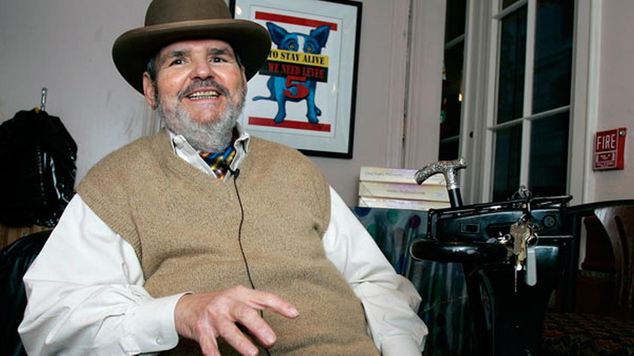 FILE -In this Friday, Feb. 2, 2007 file photo, chef Paul Prudhomme gestures during an interview at his French Quarter restaurant, K-Pauls Louisiana Kitchen, in New Orleans.
