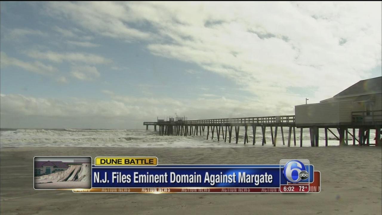 VIDEO: NJ files suit against Margate