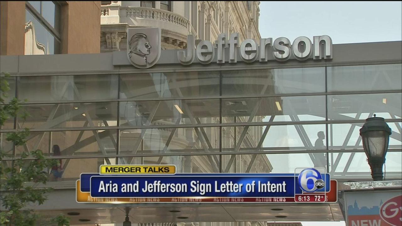 VIDEO: Aria, Jefferson make step toward merger