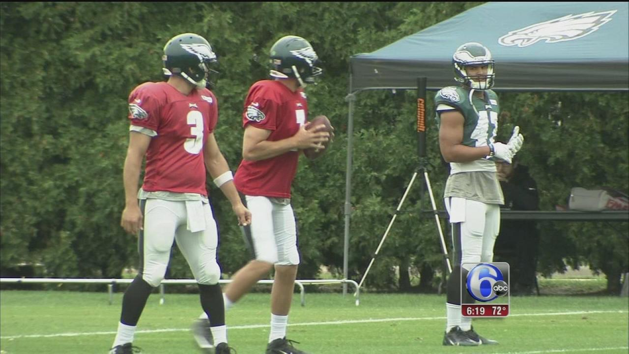 VIDEO: Eagles psyche appears to be in good health
